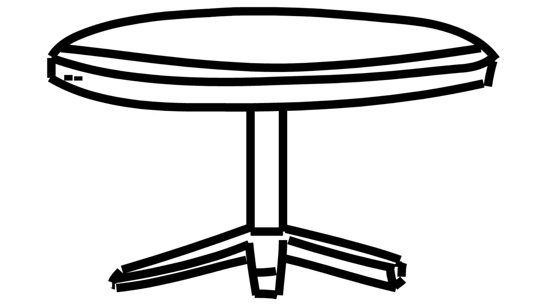 Small Table Drawing