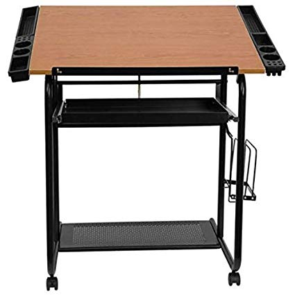 425x426 Small Drafting Table Portable Drawing Desk Adjustable