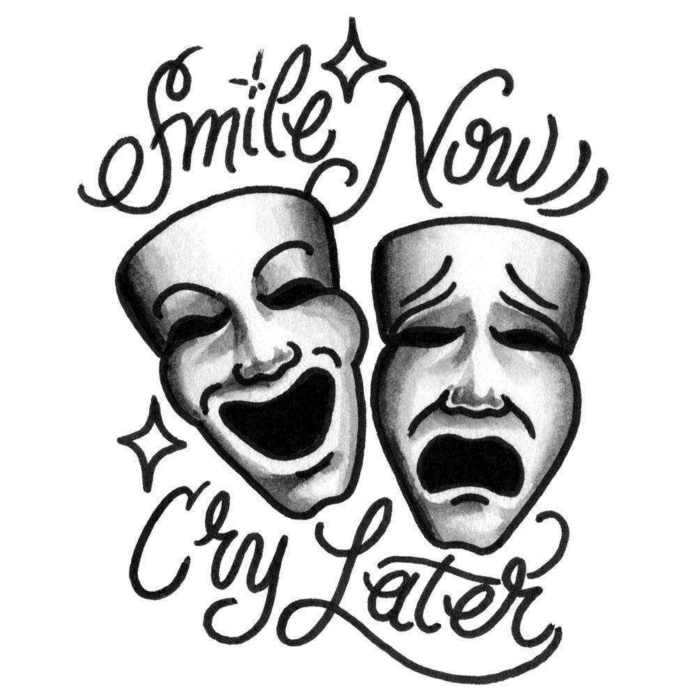 Laugh Now Cry Later Joker Tattoo Best Tattoo Ideas