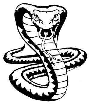 300x345 king cobra snake drawings cobra snake drawing, cobra snake