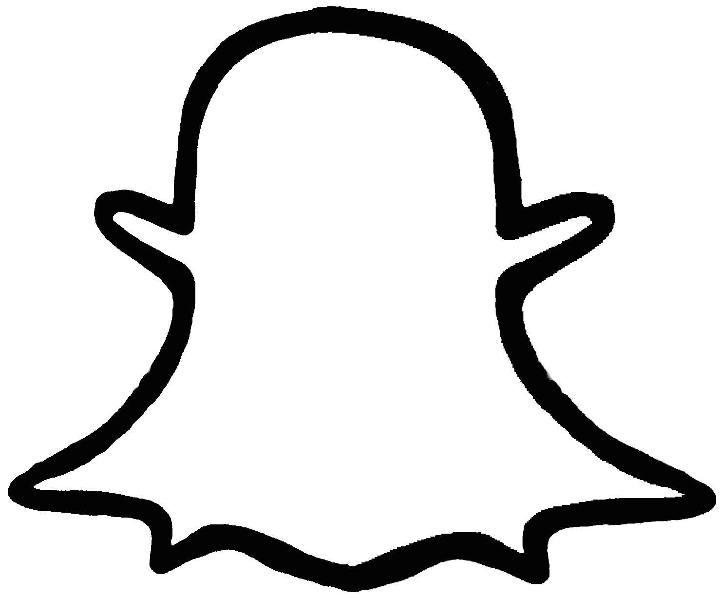 Snapchat Logo Drawing   Free download best Snapchat Logo