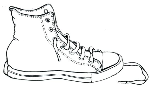 582x385 Tennis Shoe Outline Get Tennis Shoe Outline Free Clipart Tennis