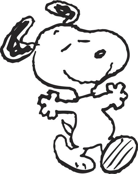 450x570 I Need To Trace This Snoopy, Snoopy Love, Peanuts
