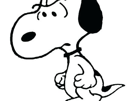 440x330 Snoopy And Woodstock Coloring Pages