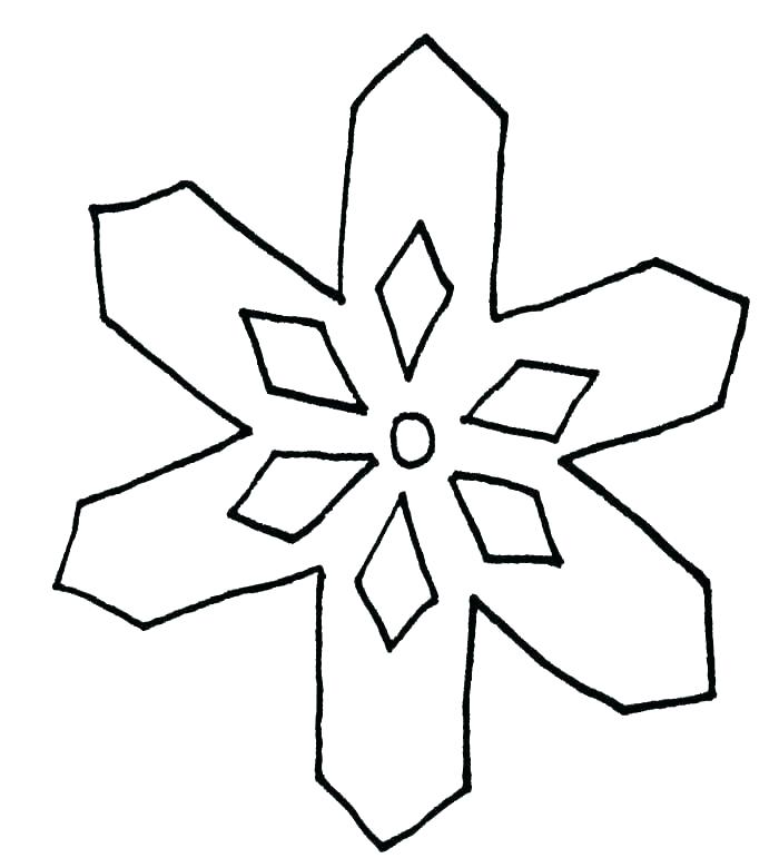 700x771 easy to draw snowflake simple snowflake design snowflake templates