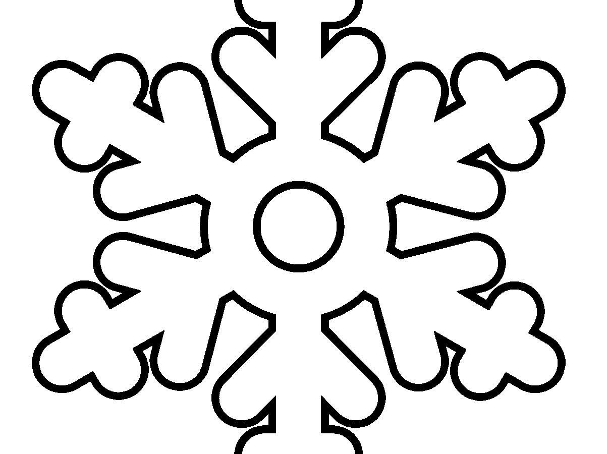 Snowflake Drawing For Kids | Free download best Snowflake ...