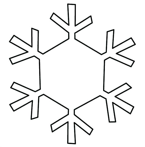 585x590 simple snowflake patterns paper simple snowflake patterns to trace