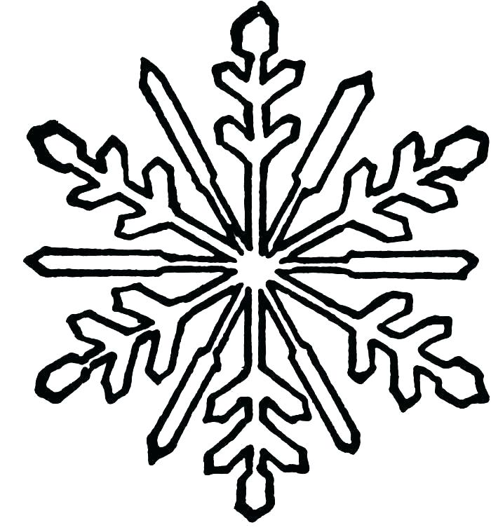 700x759 snowflake coloring snowflake coloring snowflake coloring template