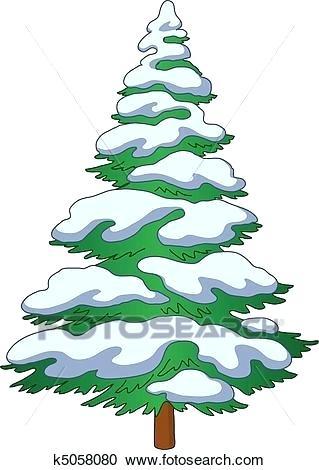 319x470 snowy tree drawing evergreen trees in snow free clip art snowy
