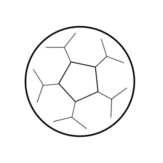 550x550 draw a soccer ball art project ideas soccer ball cake, soccer