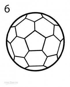 243x300 how to draw a soccer ball step soccer stuff in soccer