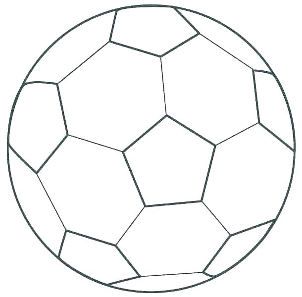 It is an image of Soccer Ball Printable with animated