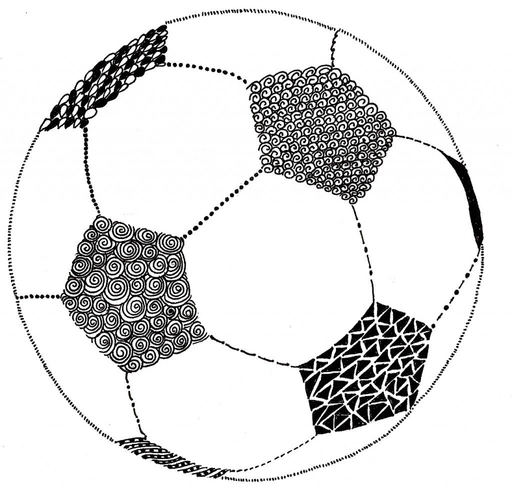 1024x988 doodled soccer ball illustrations soccer ball, soccer drawing