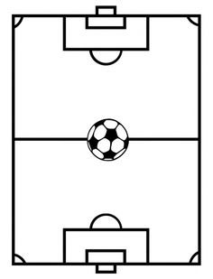 Soccer Field Drawing