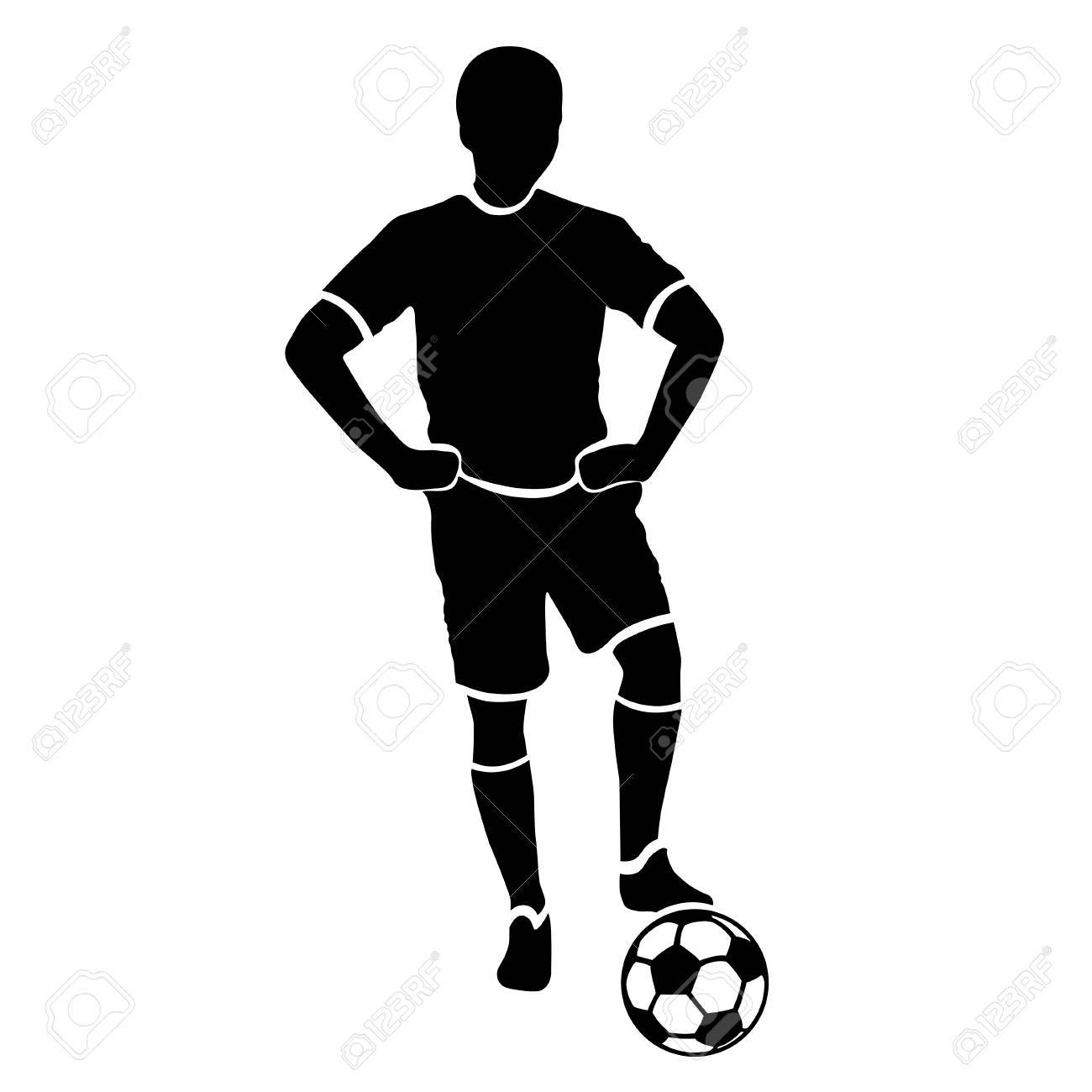1300x1300 collection of 'footballer drawing' download more than images