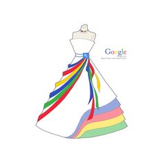 Social Media Dresses Drawings