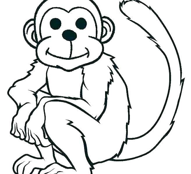 656x600 sock monkey coloring pages monkey coloring s able sock monkey