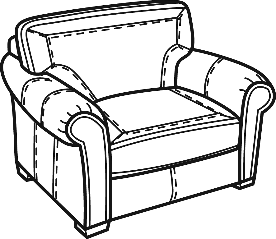 887x769 Collection Of Free Sofa Drawing Chair Download On Ui Ex