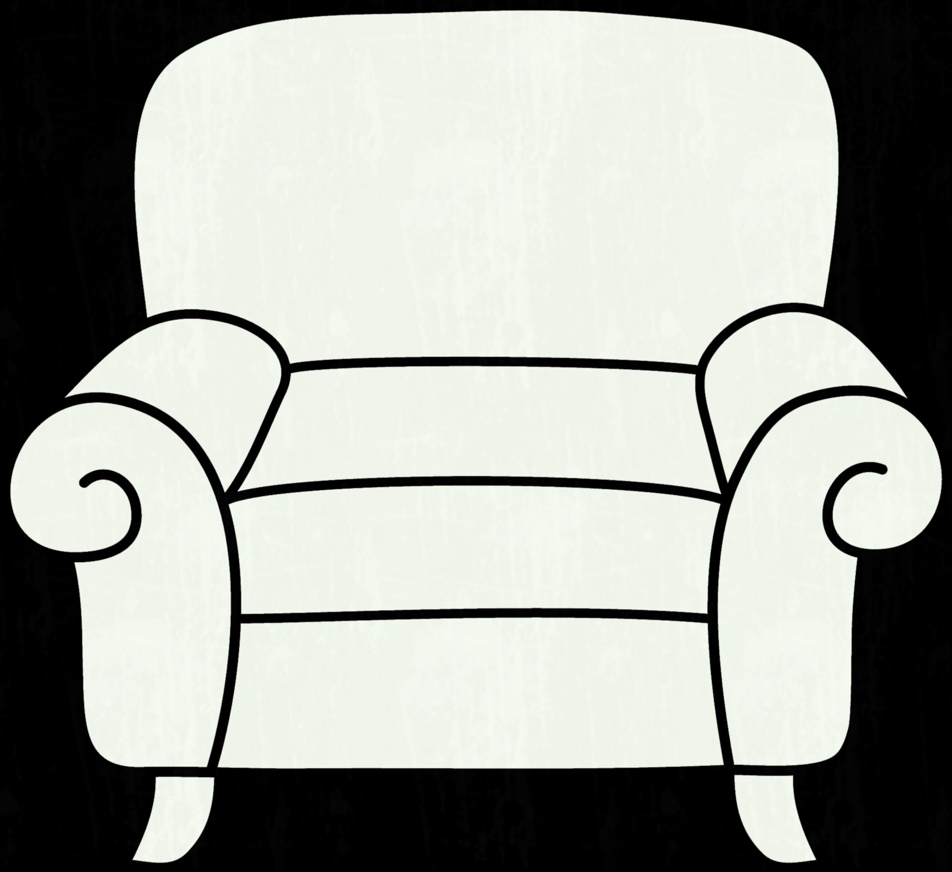 1899x1740 Couch Drawing Free Download