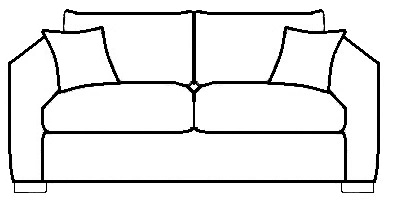 400x200 Drawing Couch, Picture