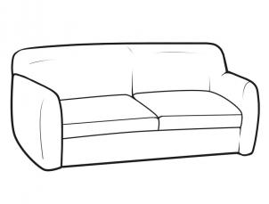 302x229 How To Draw Furniture, Step
