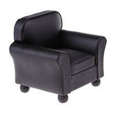 228x228 T Tooyful Leather Couch Single Sofa Chair Dollhouse Drawing