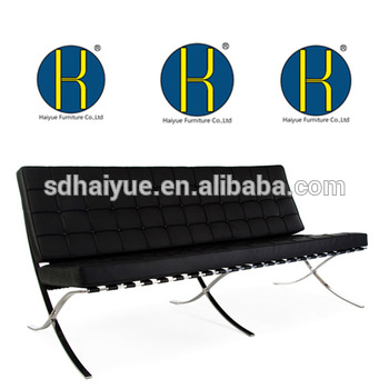 350x350 Barcelona Chair Drawing Room Barcelona Sofa Chair Set Comfortable