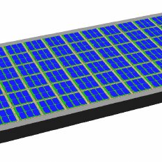 233x233 Machanical Drawing Of A Deployable Solar Panel Using Power