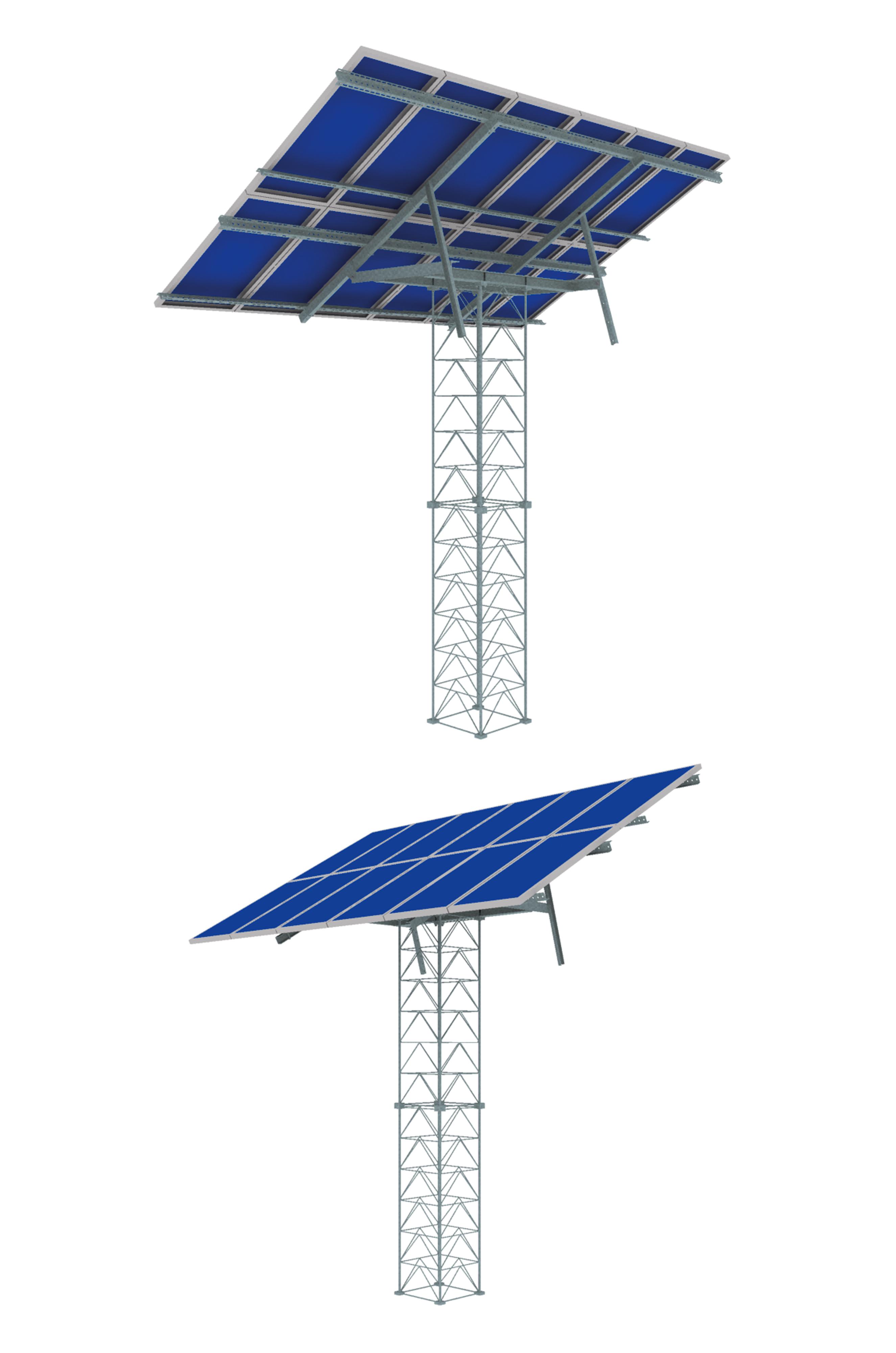 2650x4000 Mast Solar Support