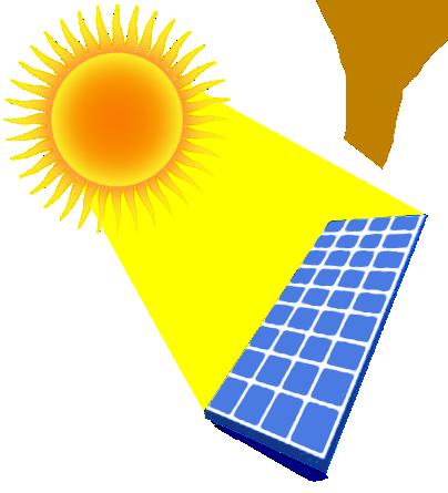 404x445 Solar Panel Clip Art