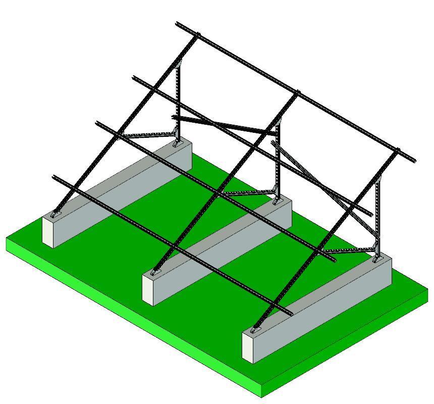 860x800 China Pv Solar Panel Mounting Bracketstructure