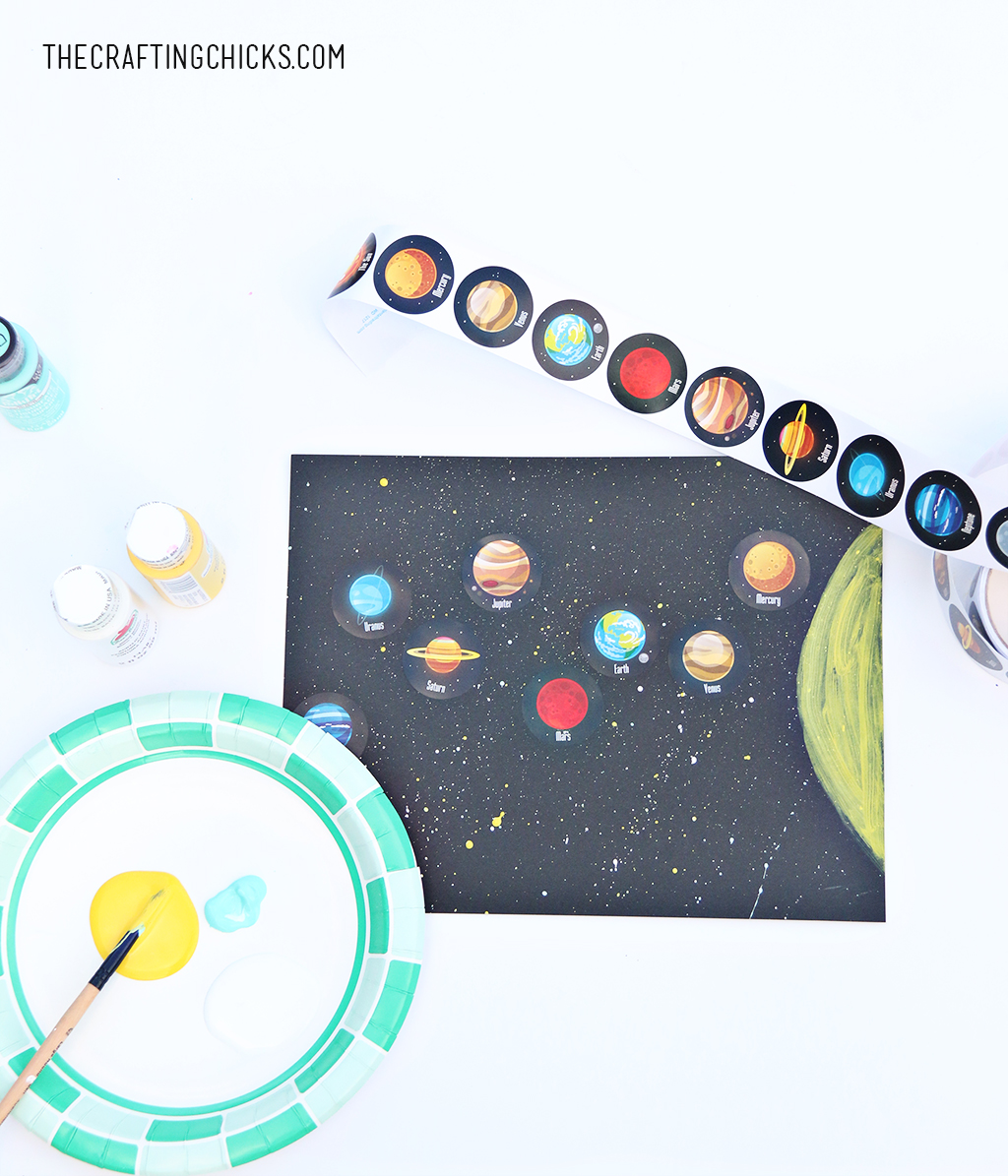 1024x1195 Easy Solar System Craft For Kids