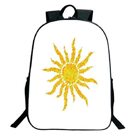 466x466 Print Black School Bag,backpackssun,artsy Grunge Star