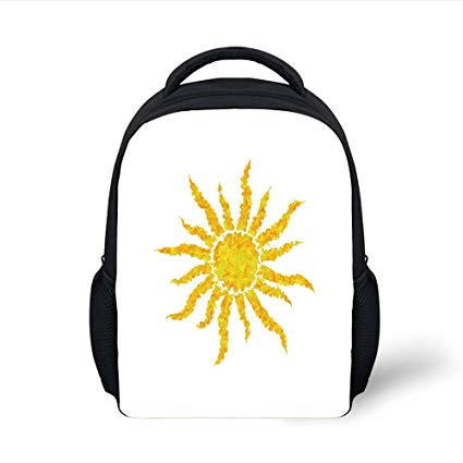 425x425 Iprint Kids School Backpack Sun,artsy Grunge Star