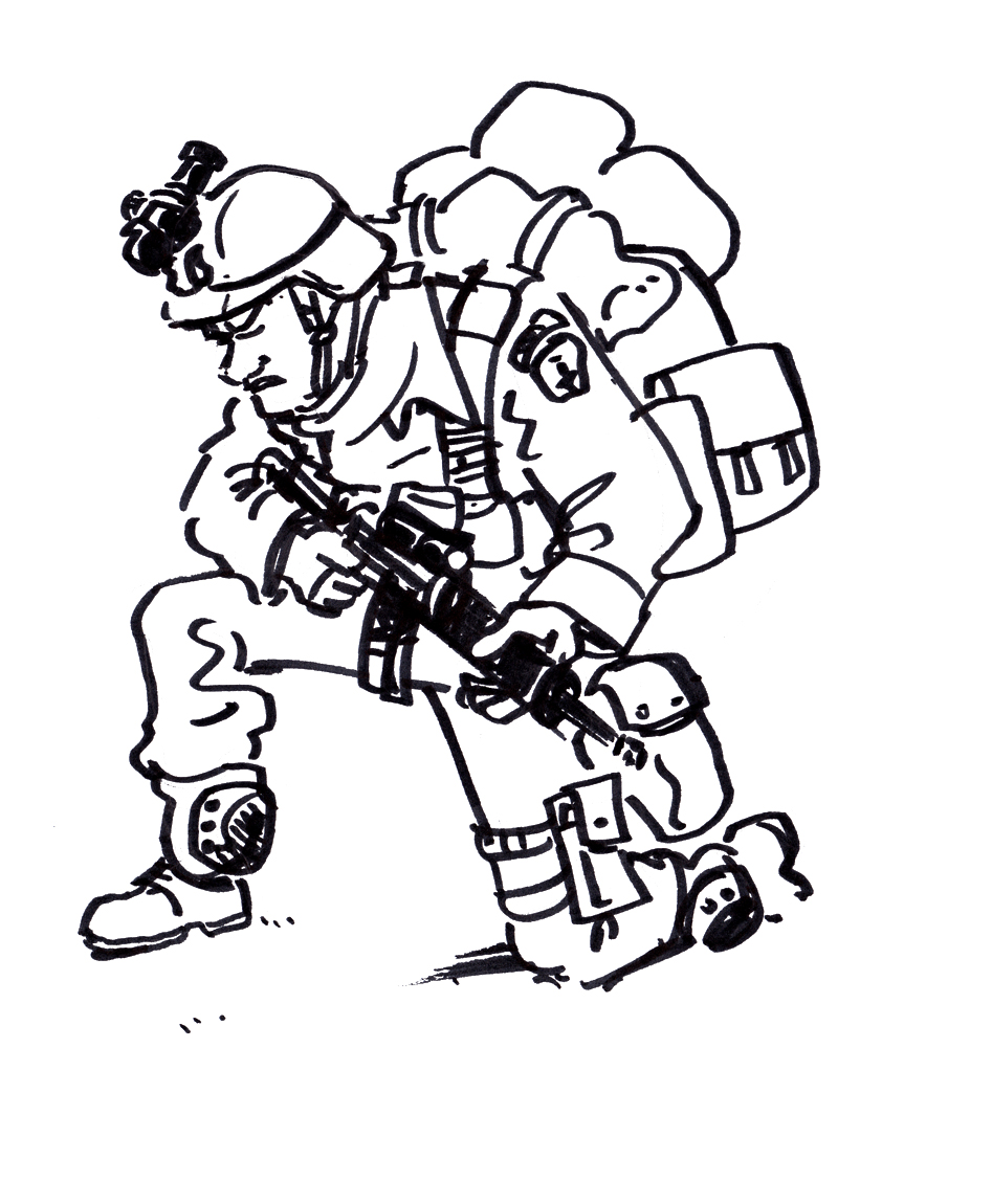 Soldier Drawing | Free download best Soldier Drawing on