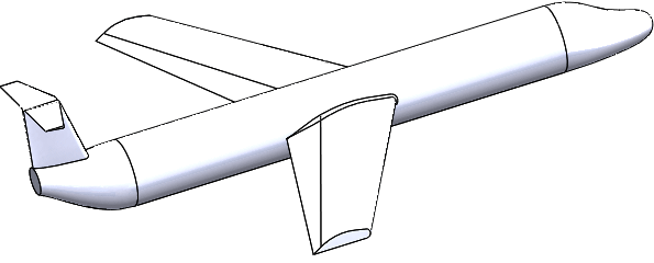 595x240 Collection Of Free Solidworks Drawing Airplane Download On Ui Ex