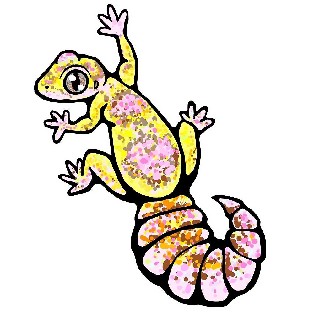 1000x1000 Chubby Gecko!