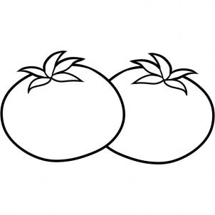 302x302 How To Draw How To Draw Tomatoes