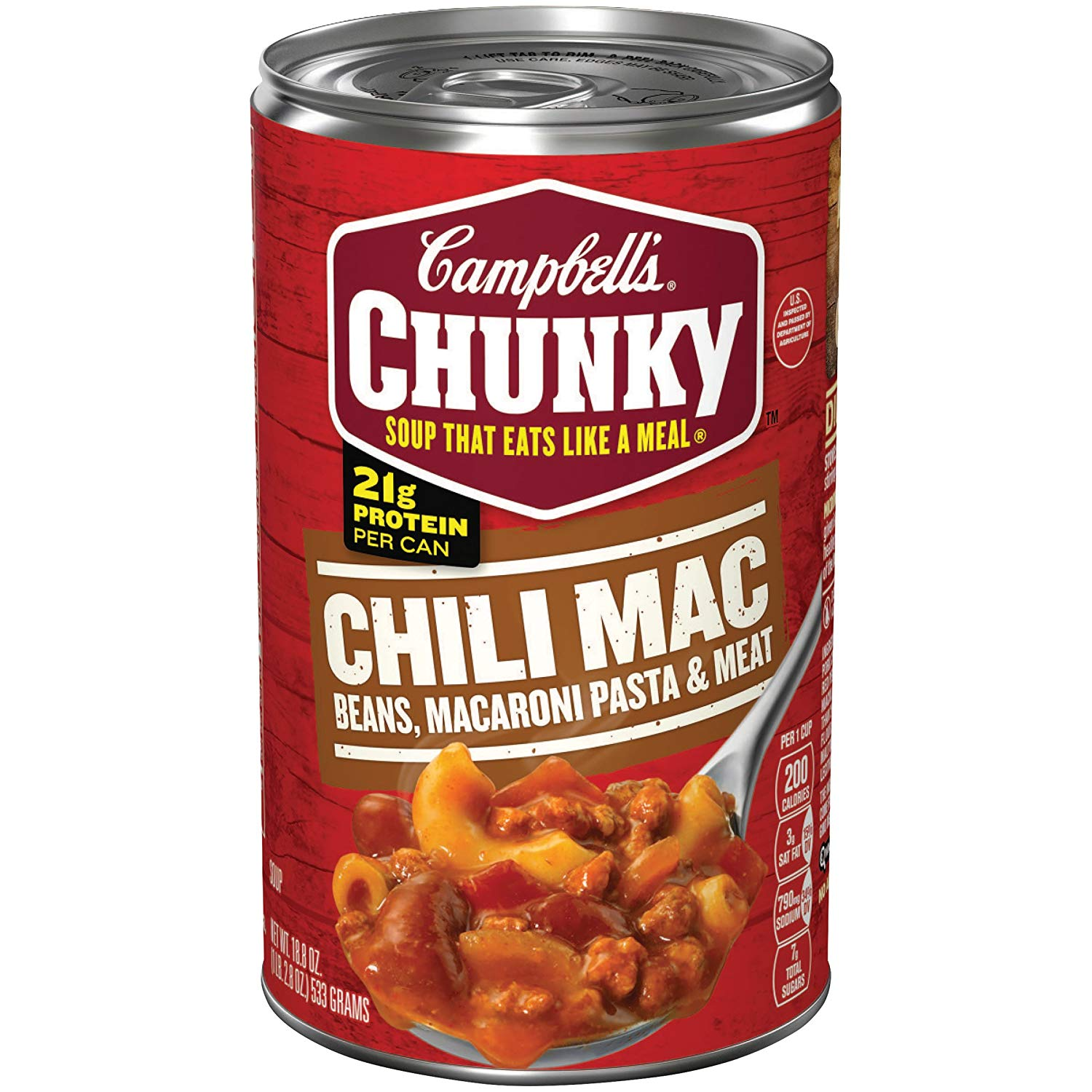 1500x1500 Campbell's Chunky Chili Mac Soup, Oz Can Prime