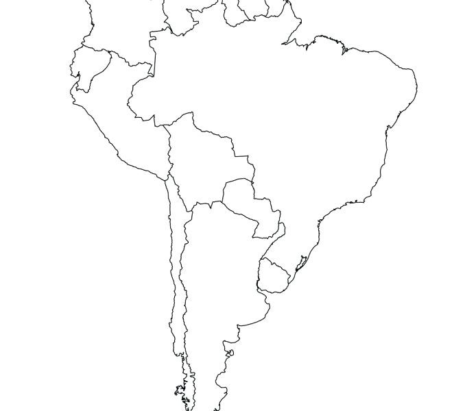 Map Of America Drawing.South America Drawing Free Download Best South America Drawing On