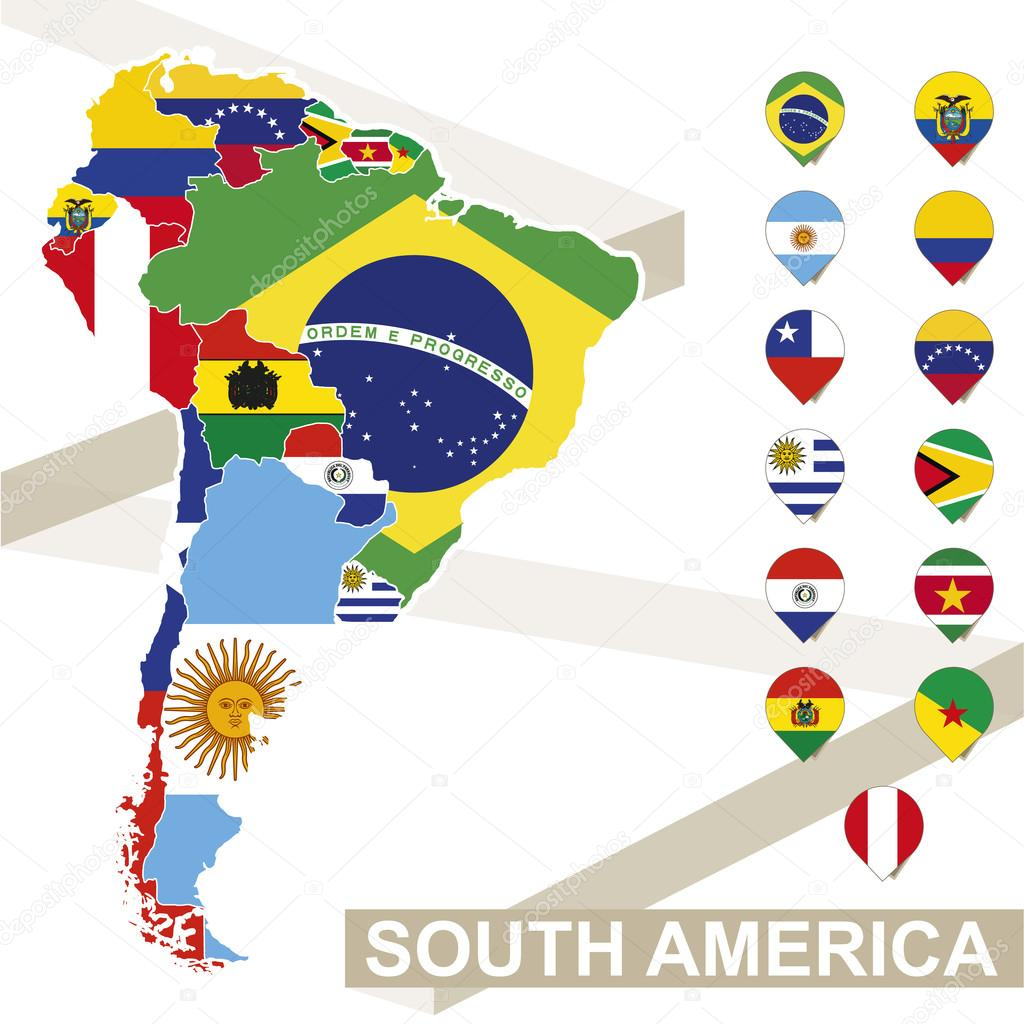 South America Map Drawing | Free download best South America Map ...