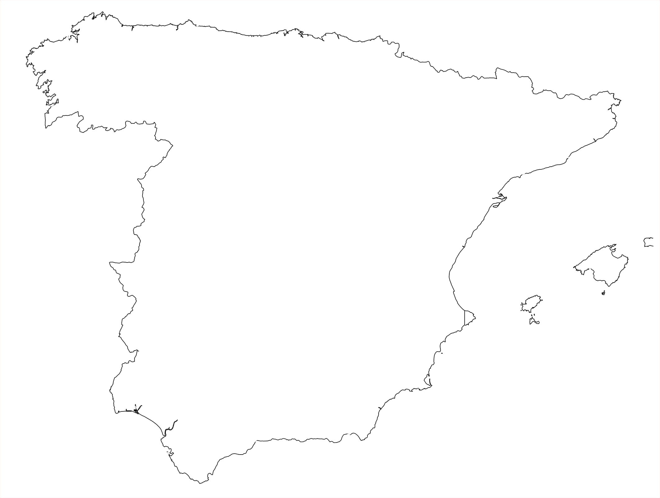 Map Of Spain Drawing.Spain Map Drawing Free Download Best Spain Map Drawing On