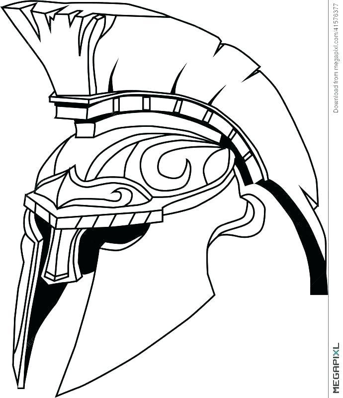 690x800 spartan coloring pages spartan coloring pages halo