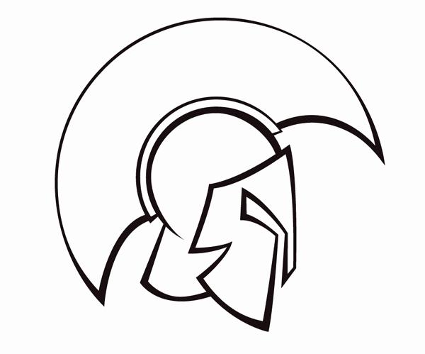 600x499 spartan helmet sketch inspirational fantastic spartan drawing