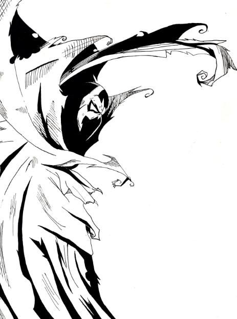 463x624 Drawing Spawn, Drawings, Comic Art