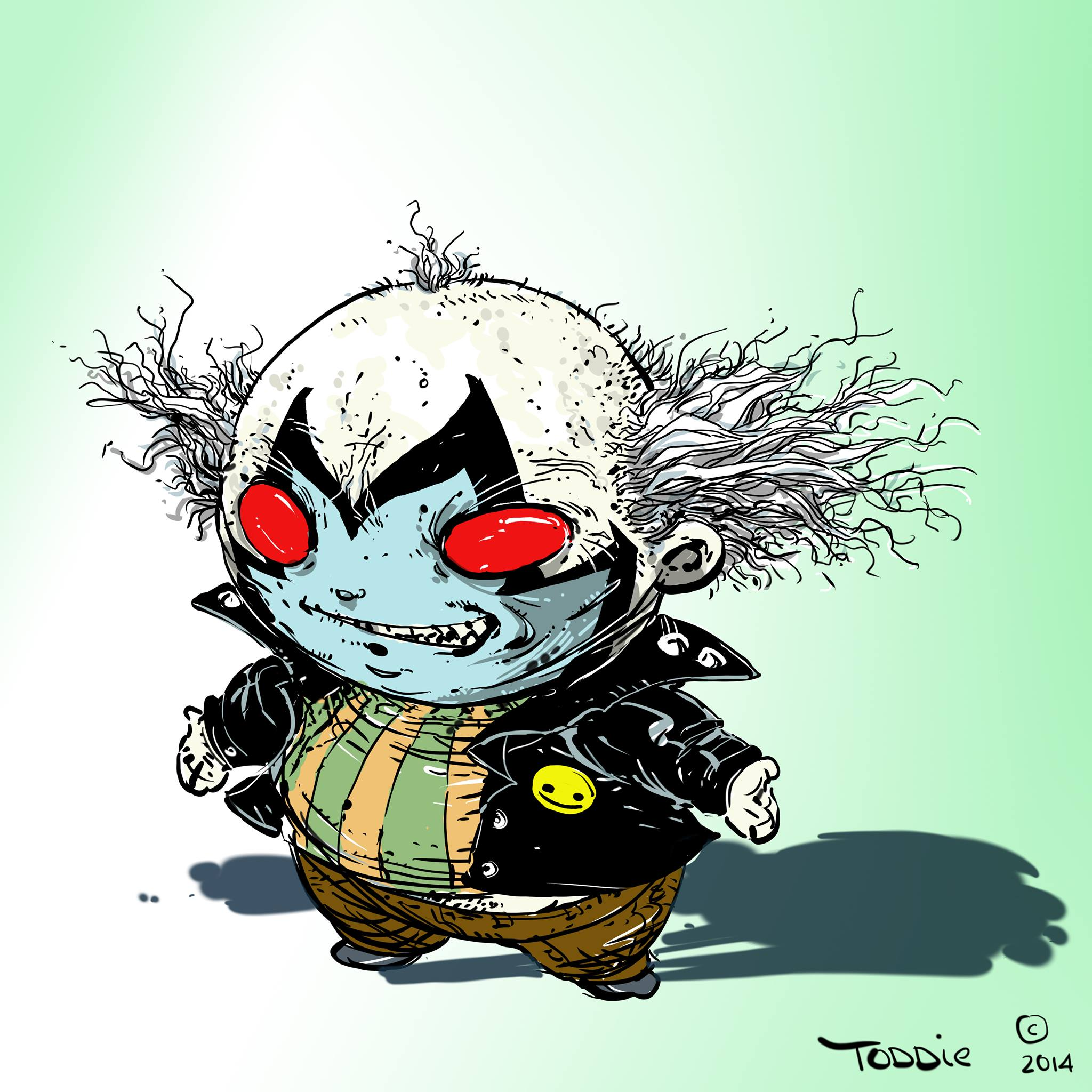 2048x2048 What Would Todd Mcfarlane's Spawn Look Like If Skottie Young Had