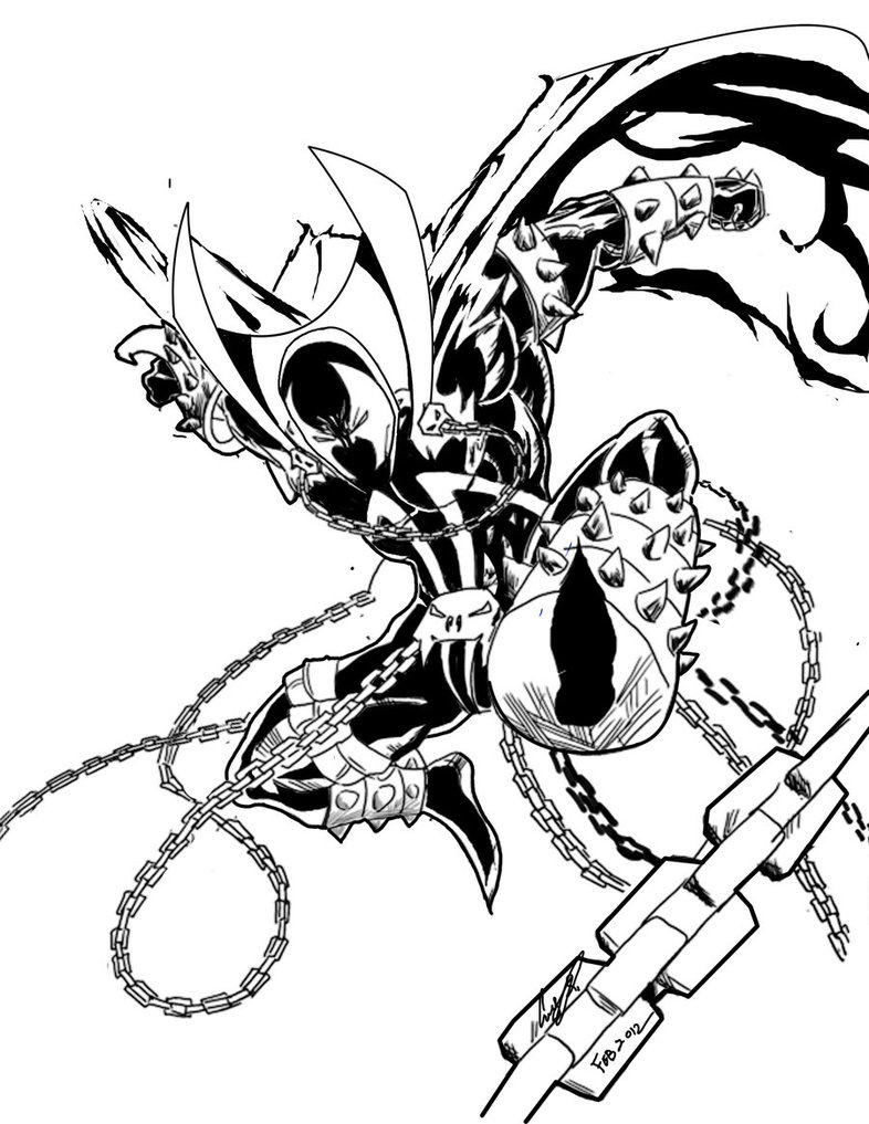 786x1017 Spawn Drawing Ninja For Free Download