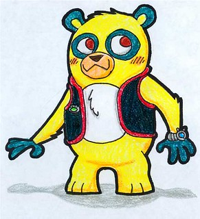 291x320 special agent oso drawing special agent oso, as drawn