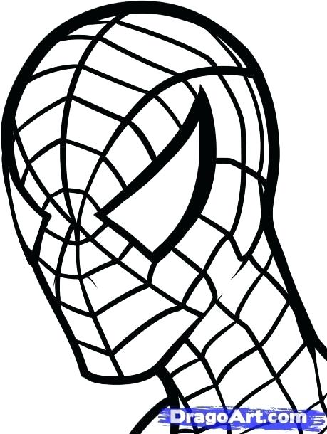 459x610 spider man draw how to draw spider man for kids easy spider man