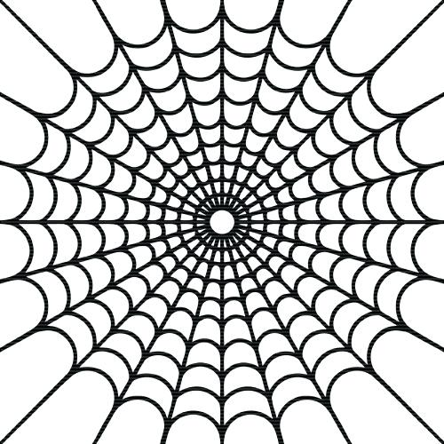 500x500 simple spider web drawing simple spider web drawing basic spider